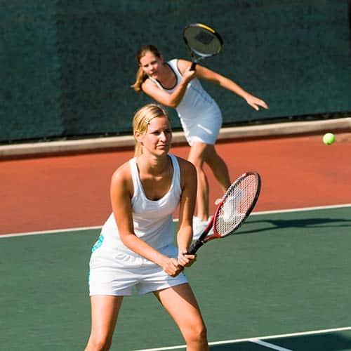 Tennis answer: DOPPIO