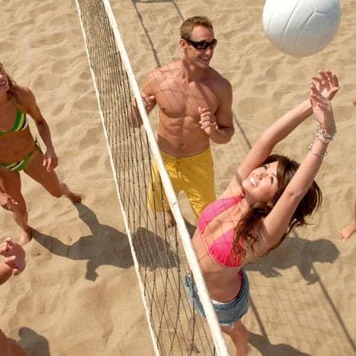 Vacanza answer: BEACH VOLLEY