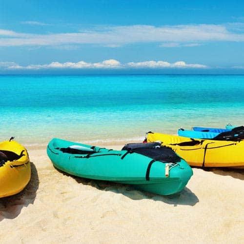 Vacanza answer: CANOE
